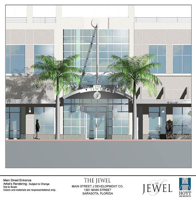 The Jewel Main Street Entrance
