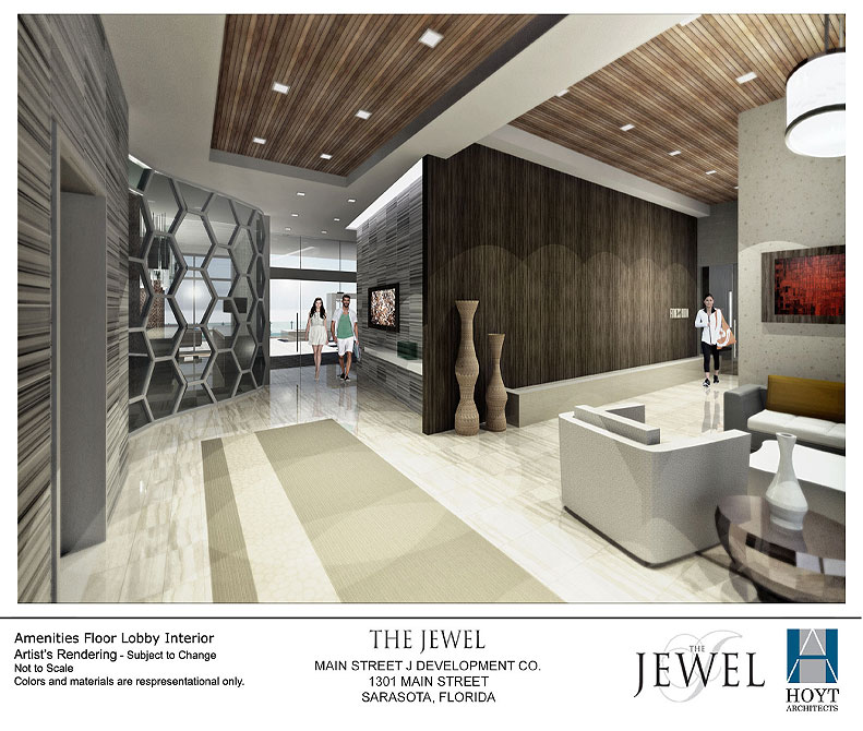 The Jewel Amenities Floor Lobby Interior