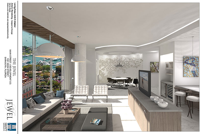 Living Area Rendering